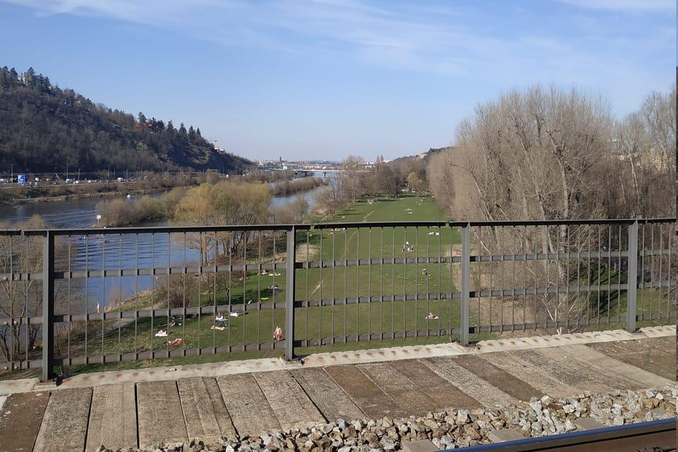 Le pont de Braník,  photo: Bohumil Šimčík